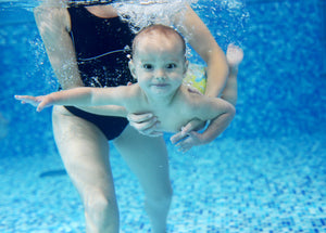 Starting swimming for babies and progression for children
