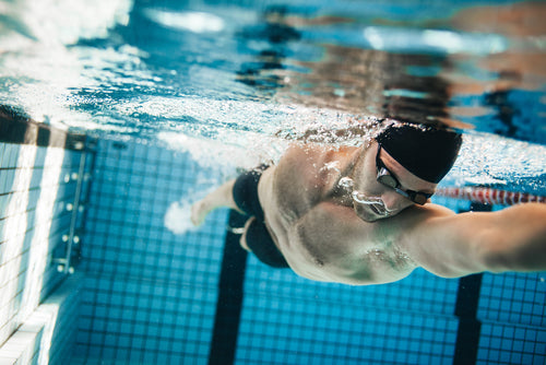 Layering as a method of swimming improvement