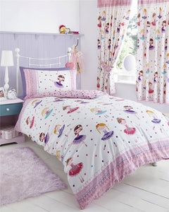 GIRLS KIDS BEDDING Pink Duvet Sets Unicorns Horses Owls Fairy Quilt Covers