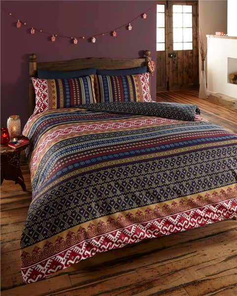 Moroccan style duvet cover sets aztec geometric boho ethnic bedding