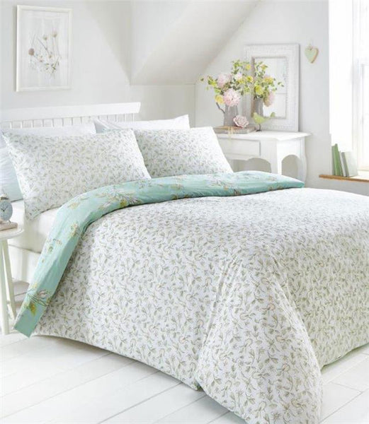 Duvet sets country cottage floral design pretty quilt cover bedding