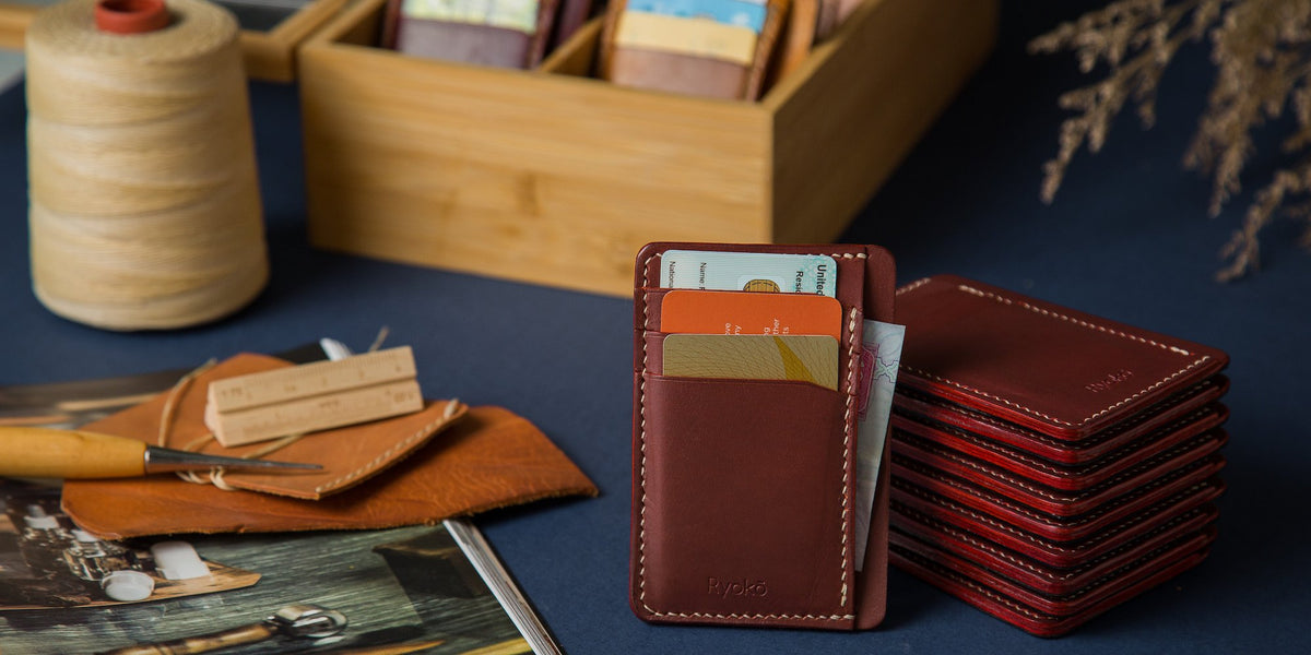 leather card wallets
