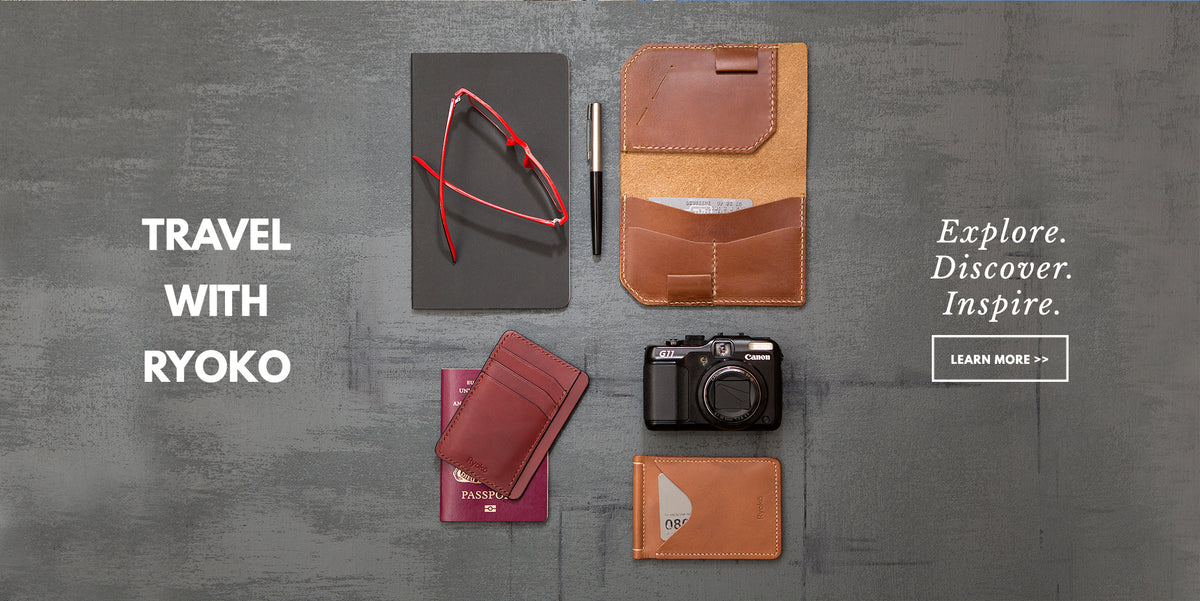 Leather Goods for Travel and Business