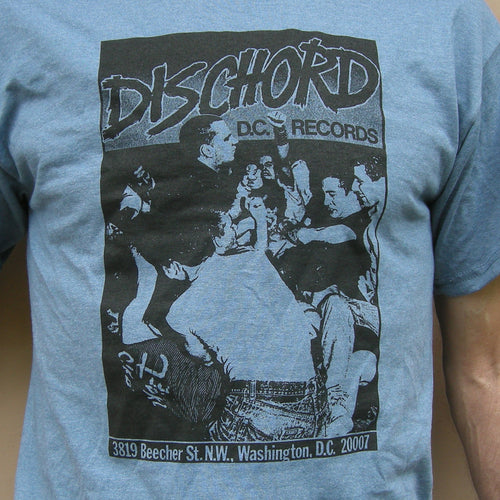 1st Dischord Shirt T-shirt HEATHER INDIGO / BLACK