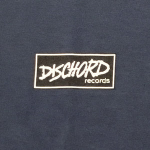 Dischord Box Logo - T-shirt BLUE DUSK
