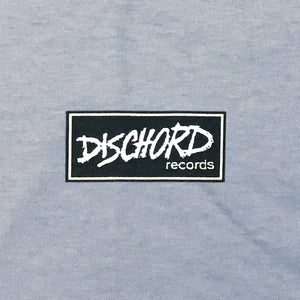 Dischord Box Logo T-shirt GRAVEL