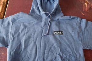 Dischord Box Logo - Hooded Sweatshirt INDIGO BLUE