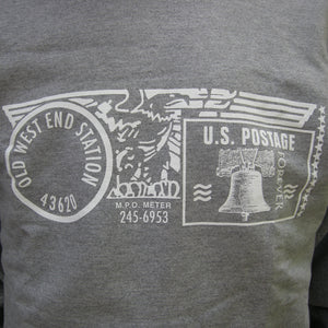 Old West End Post Office - Crewneck Sweatshirt SPORT GREY / WHITE