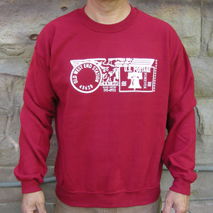 Old West End Post Office Crewneck Cardinal Red