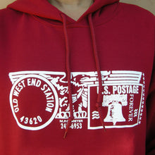 Old West End Post Office - Hoodie CARDINAL RED