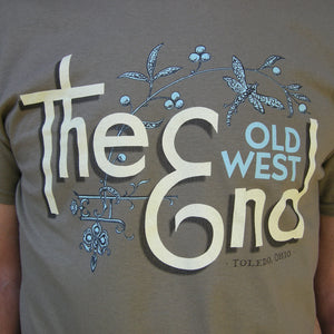 The (Old West) End Dragonfly T-shirt - Prarie Dust