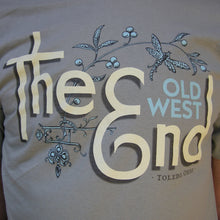 The (Old West) End - Dragonfly T-shirt Stonewashed Green