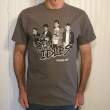 Teen Idles - T-shirt  CHARCOAL / BLACK & WHITE