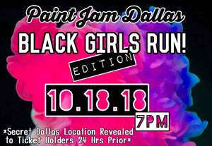 Black Girls Run! Paint Sesh.