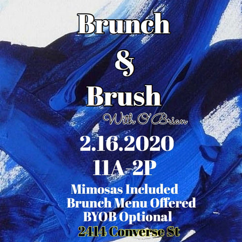 Brunch & Brush🍊🎨🍗