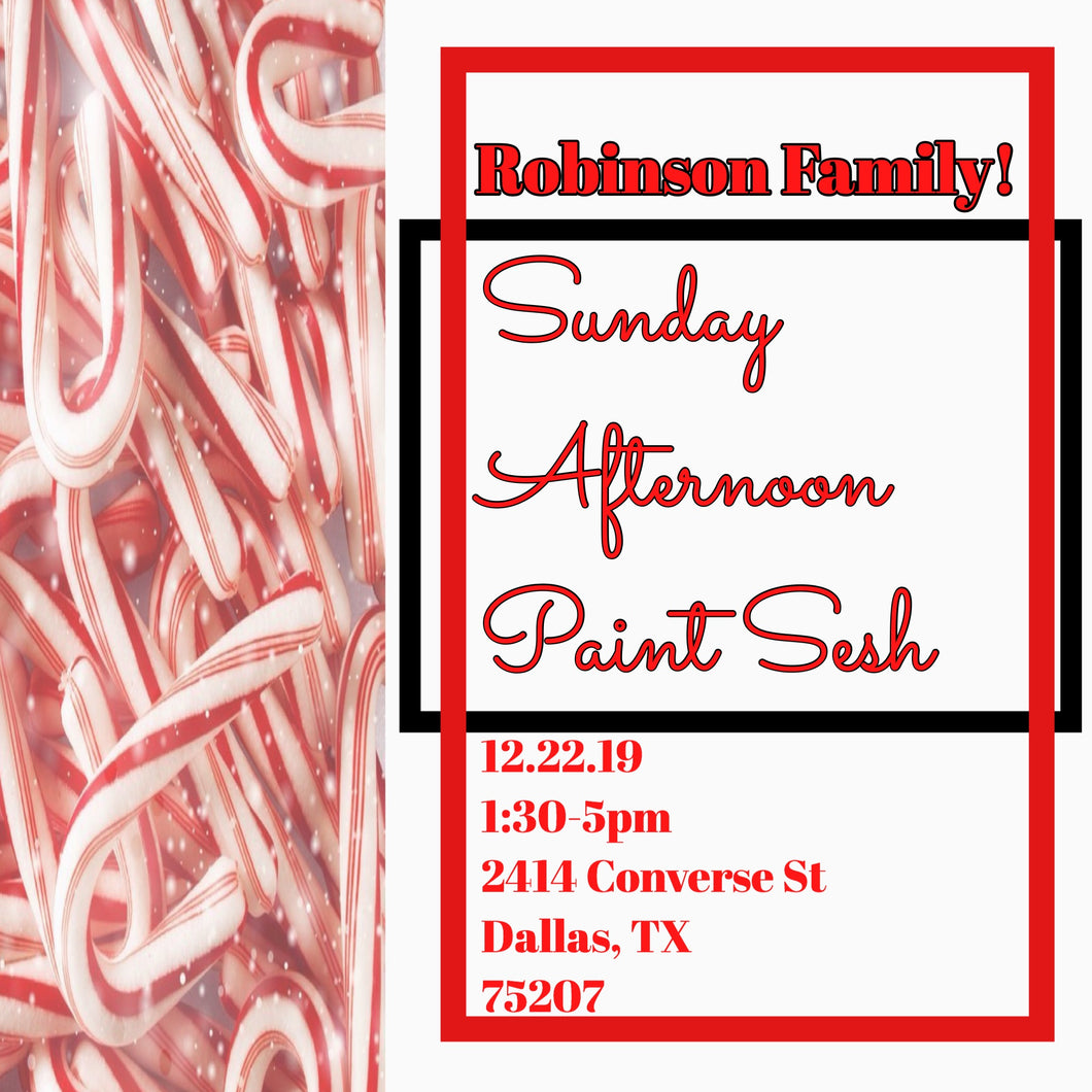 Paint Jam Dallas-Robinson Edition!