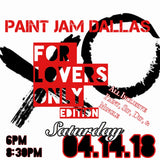 For Lovers Only Paint Sesh.