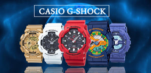 Find huge collection of Casio G-Shock Watches at very affordable prices.