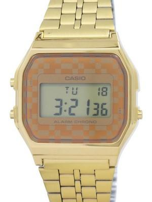 Casio Vintage Chronograph Alarm Digital A159WGEA-9A Mens Watch