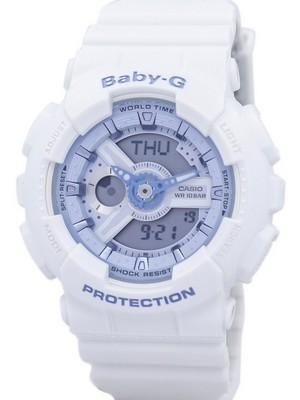Casio Baby-G Shock Resistant World Time Analog Digital BA-110BE-7A Womens Watch