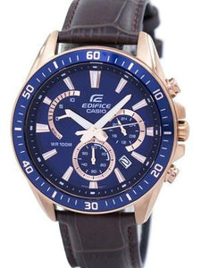 Casio Edifice Chronograph Quartz EFR-552GL-2AV EFR552GL-2AV Mens Watch