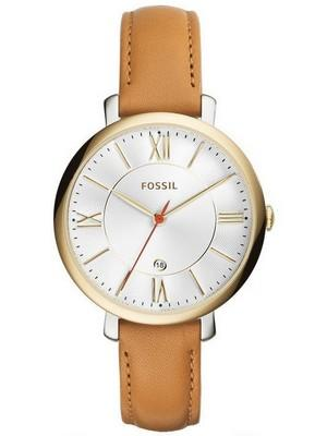 Fossil Jacqueline Silver Dial Date Display ES3737 Womens Watch