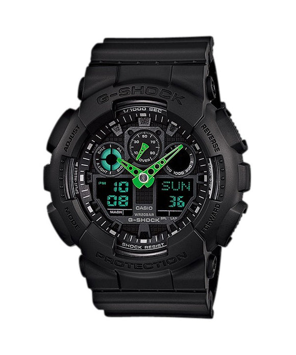 Casio G-Shock Analog-Digital GA-100C-1A3 Mens Watch