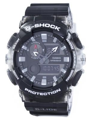 Casio G-Shock G-LIDE Tide Graph Thermometer Moon Phase GAX-100MSB-1A Mens Watch