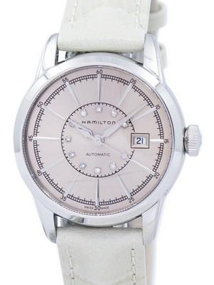 Hamilton American Classic Railroad Automatic Diamond Accent H40405821 Womens Watch