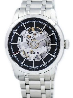 Hamilton American Classic Railroad Skeleton Automatic H40655131 Mens Watch