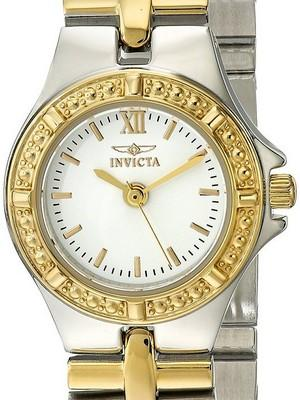 Invicta Wildflower Collection Two Tone 0136 Womens Watch
