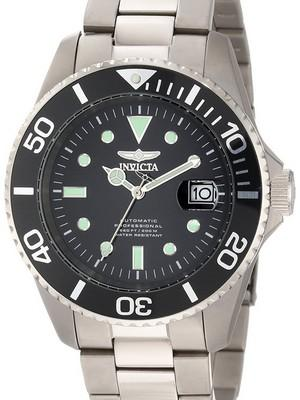 Invicta Pro Diver Professional Titanium Automatic 200M 0420 Mens Watch