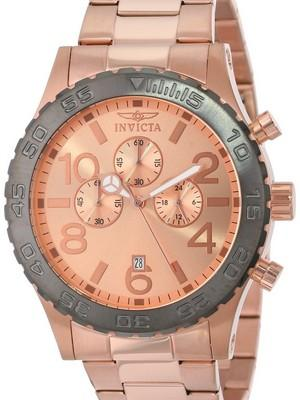 Invicta Specialty Chronograph Rose Gold Tone 15161 Mens Watch