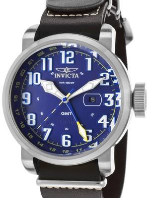 Invicta Aviator GMT Quartz 18887 Mens Watch