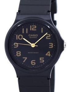 Casio Classic Quartz Black Strap MQ-24-1B2LDF MQ-24-1B2L Mens Watch