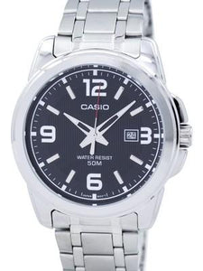 Casio Enticer Analog Quartz MTP-1314D-1AVDF MTP1314D-1AVDF Mens Watch