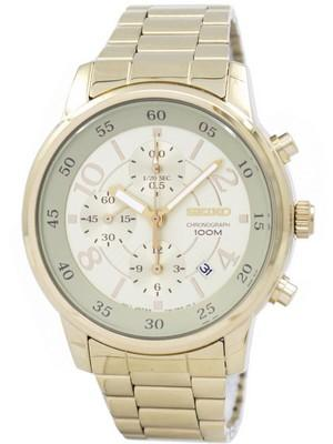 Seiko Chronograph Quartz SNDW84 SNDW84P1 SNDW84P Womens Watch