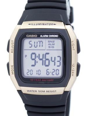 Casio Youth Illuminator Dual Time Alarm Chrono W-96H-9AVDF W96H-9AVDF Mens Watch