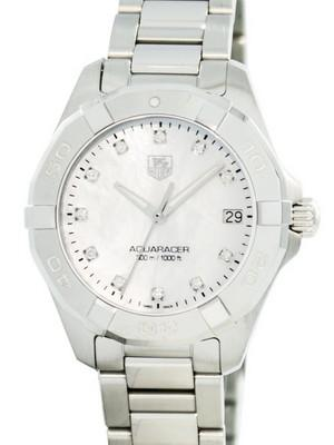 Tag Heuer Aquaracer Diamond Markers Quartz 300M WAY1313.BA0915 Womens Watch