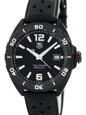 Tag Heuer Full Black Edition Formula 1 Calibre 5 Automatic 200M WAZ2115.FT8023 Mens Watch