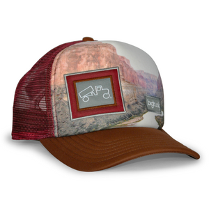 outdoor adventure, una vita di avventure con i nostri cappelli berretti Original Sublimated Grand Canyon - bigtruck®