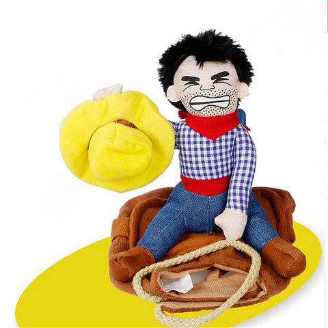 Image of Funny Pet Cowboy Puppy Costume
