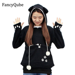 Ear Hoodie Cartoon