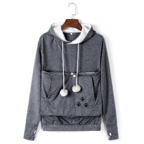 Big Pocket Sweatshirts With Cuddle Pouch