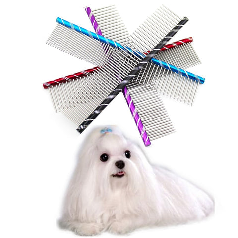 Fancy Stainless Steel Dog Brush
