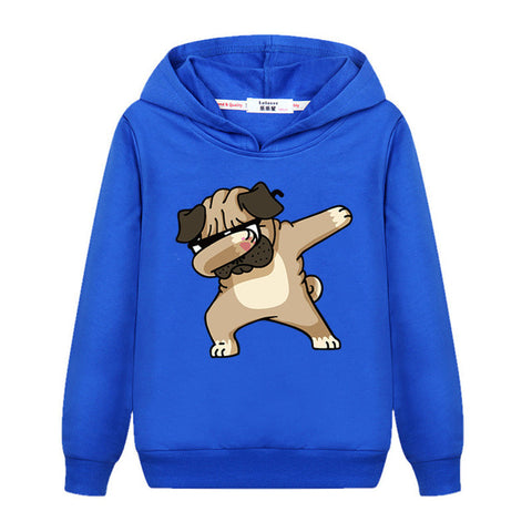 Image of Dabbing Dog Sweatshirt Emoji
