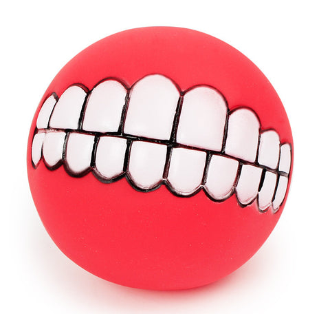 Image of Funny Dog Teeth Ball Toy