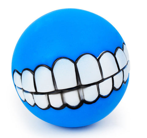 Funny Dog Teeth Ball Toy