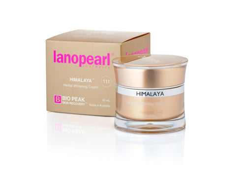 LB34N LANOPEARL HIMALAYA HERBAL WHITENING CREAM 50ML