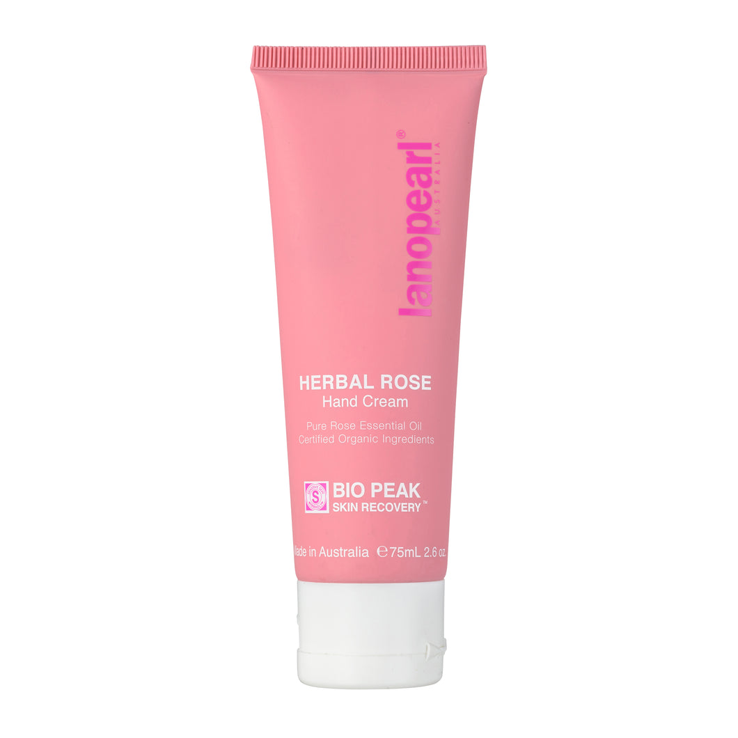 LB68 Lanopearl Bio Peak Herbal Rose Hand Cream (75ml)